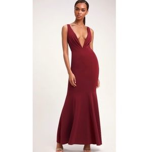 🎄Perfect Holiday Sexy Red Evening Dress SMALL S
